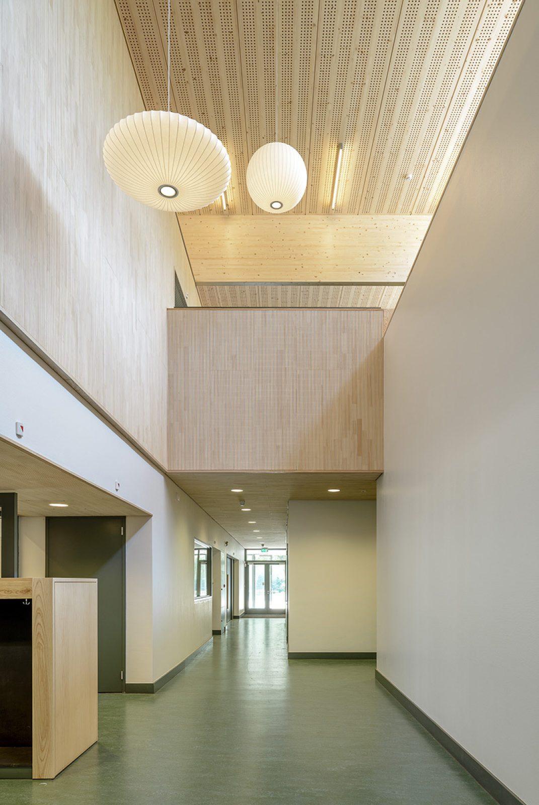 Aj Schreuderschool Corridor View