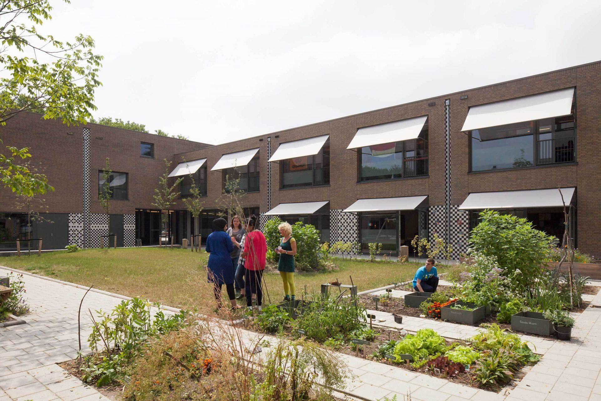 Aj Schreuderschool Garden 2