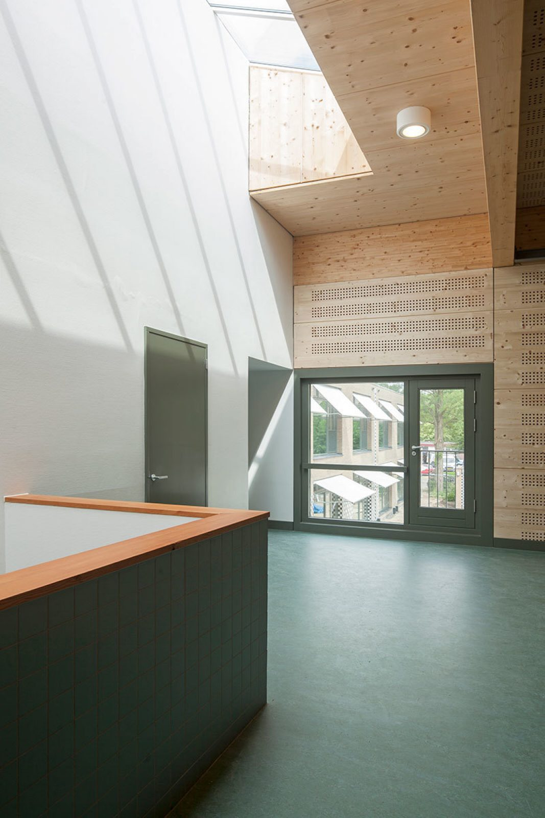 Aj Schreuderschool Roof Light Gym
