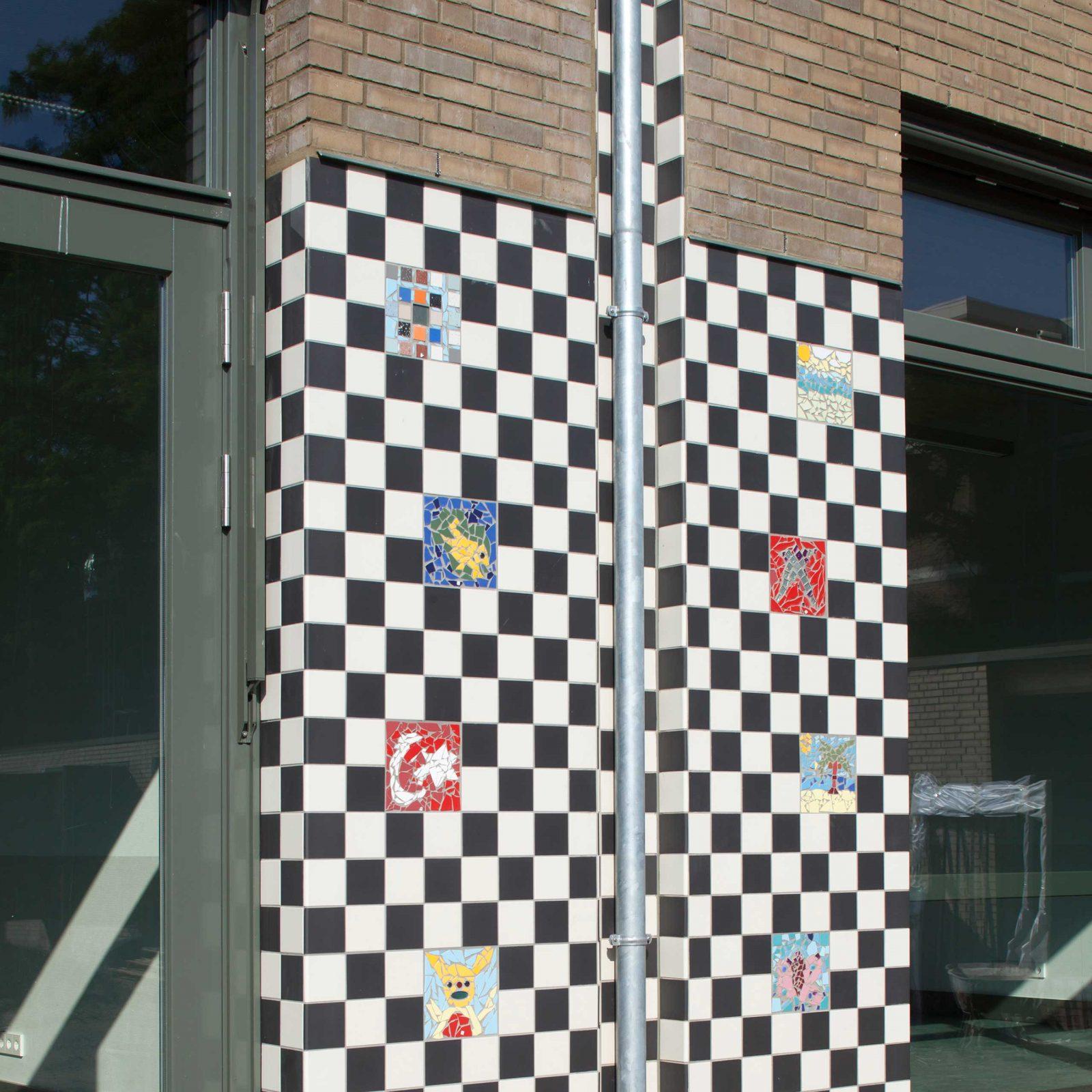 Aj Schreuderschool Tiles Gutter