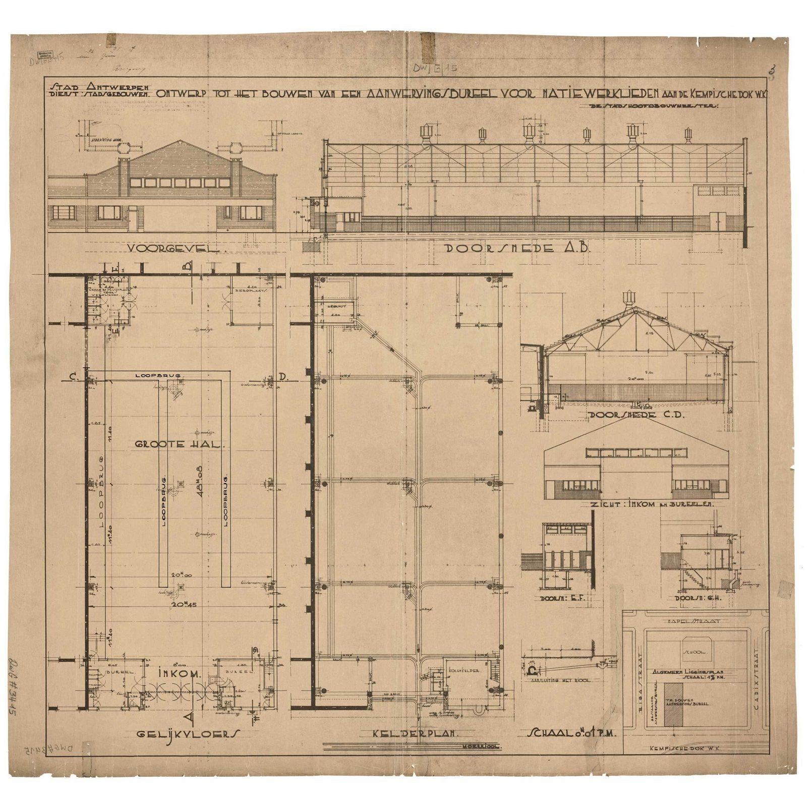 Cad Old Floorplan 2
