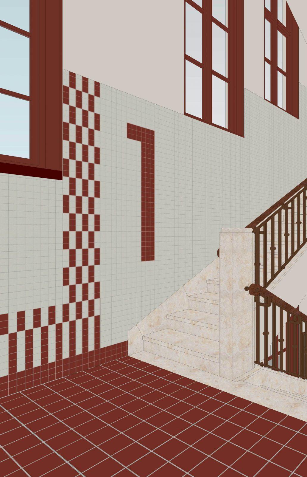 Cadix Va Gang Staircase