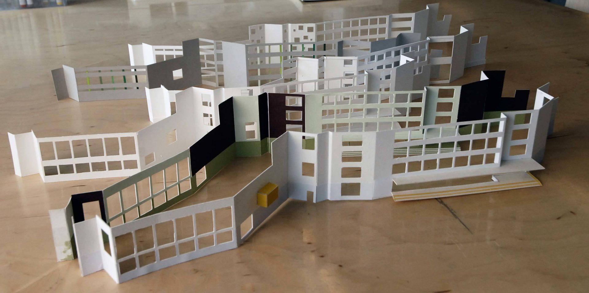 Het Landje Fassade Model