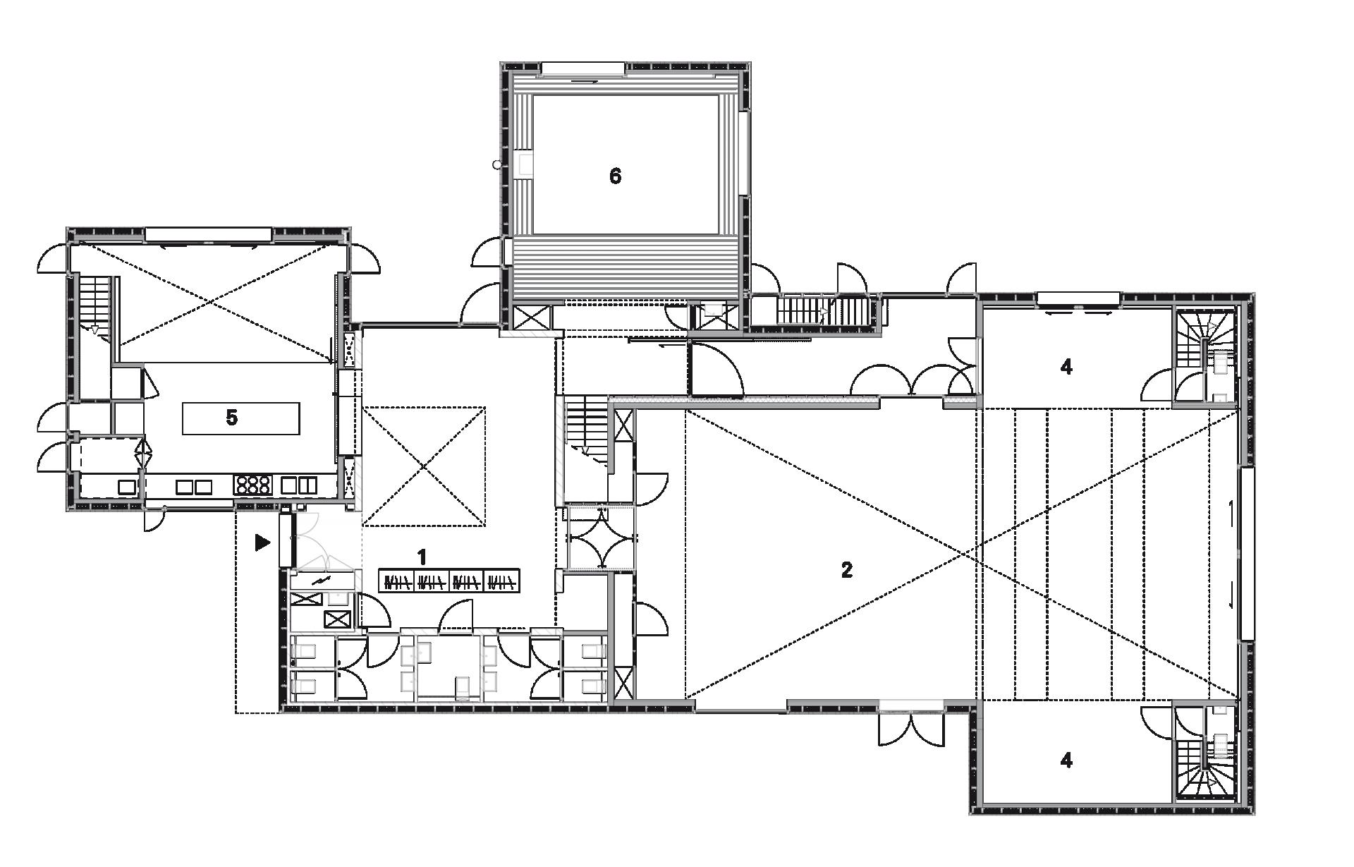 Kamers Floorplan 1