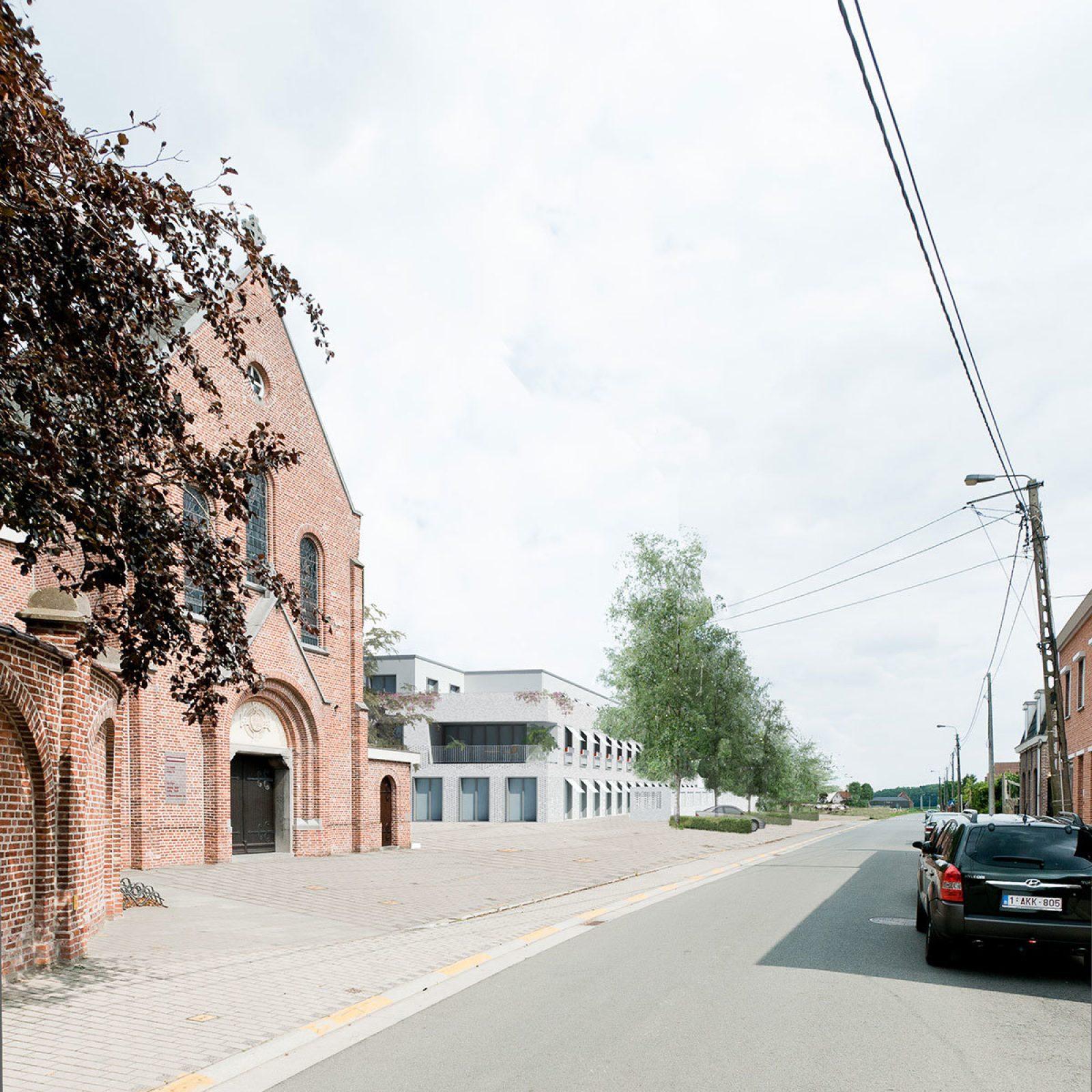 Kruishoutem Render Street