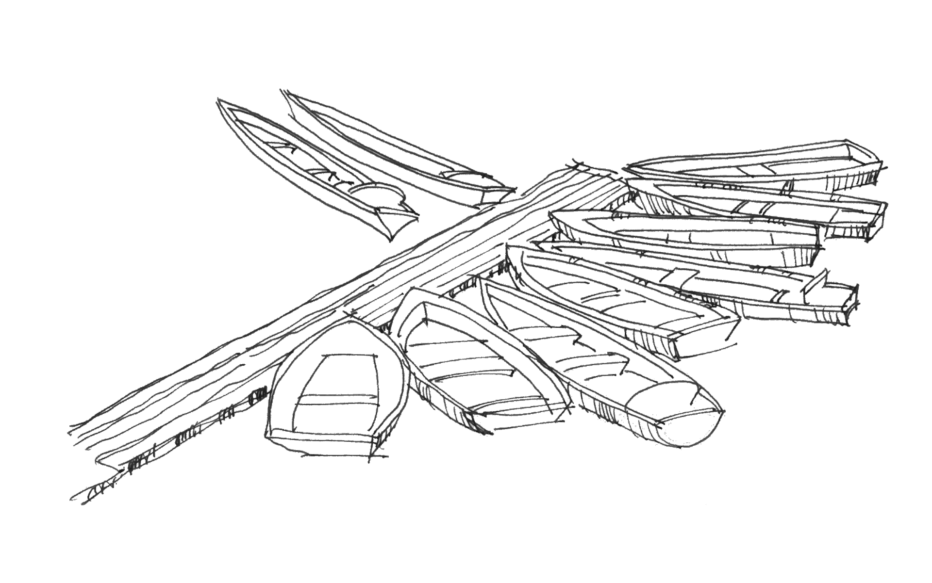 Lakbors Boat Drawing