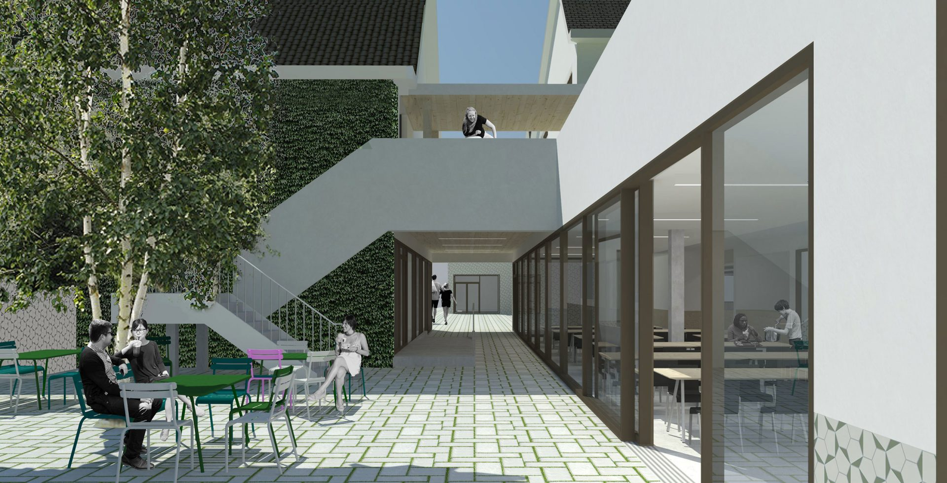 Lakbors Render Patio