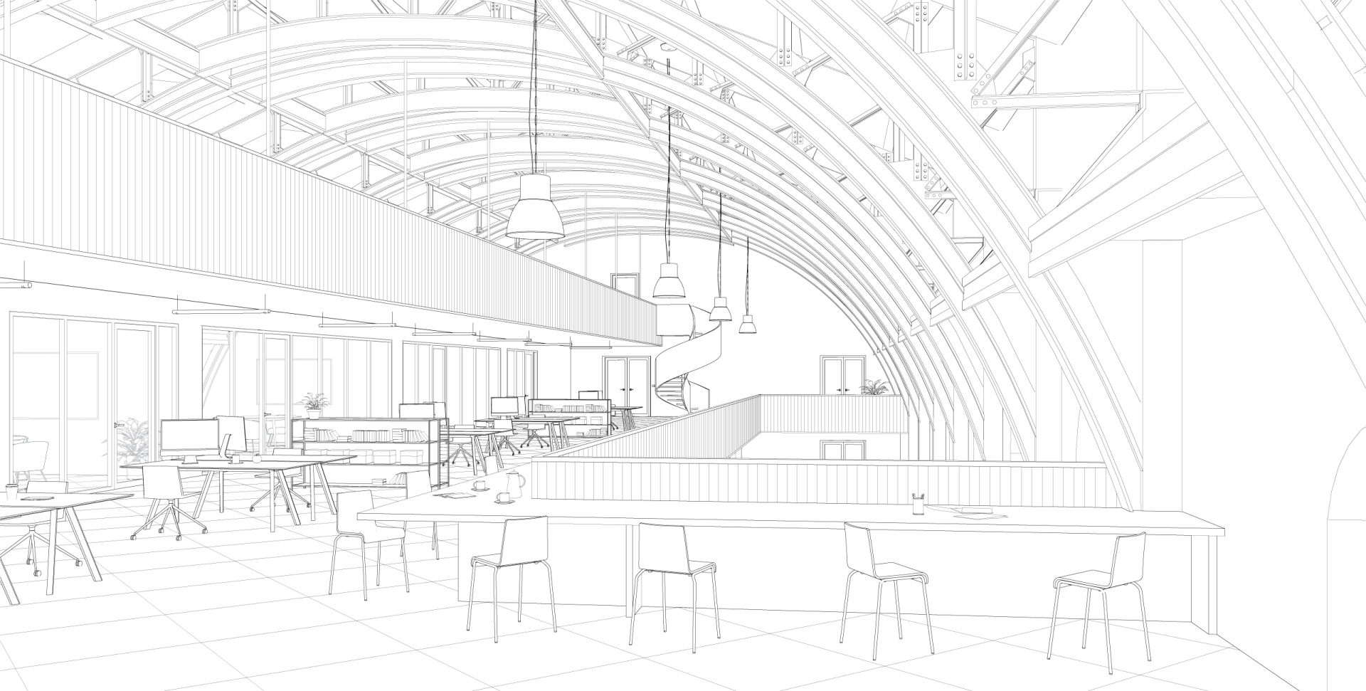 Lebeau Paille Line Attic