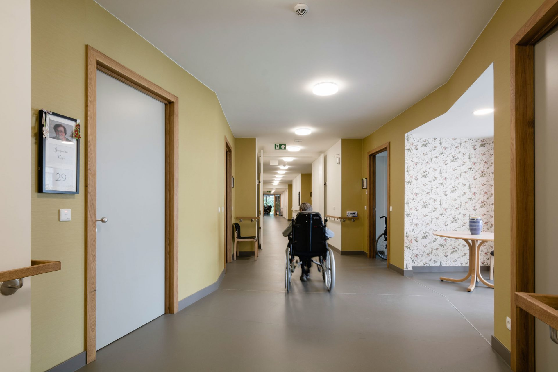 Machelen Corridor Wheelchair