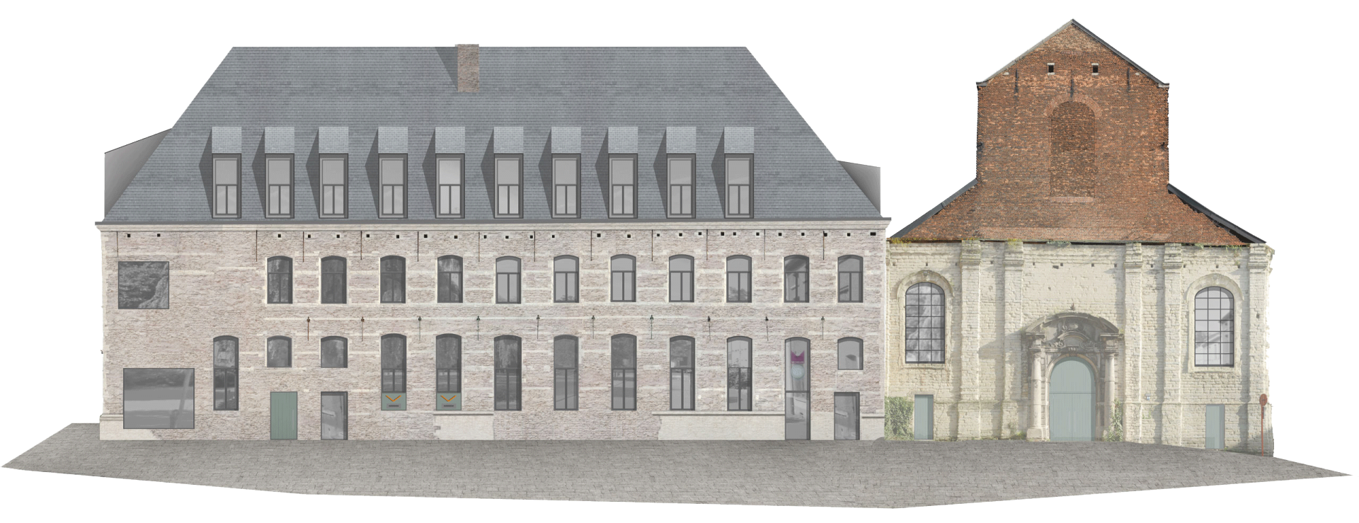 Mechelen Elevation West