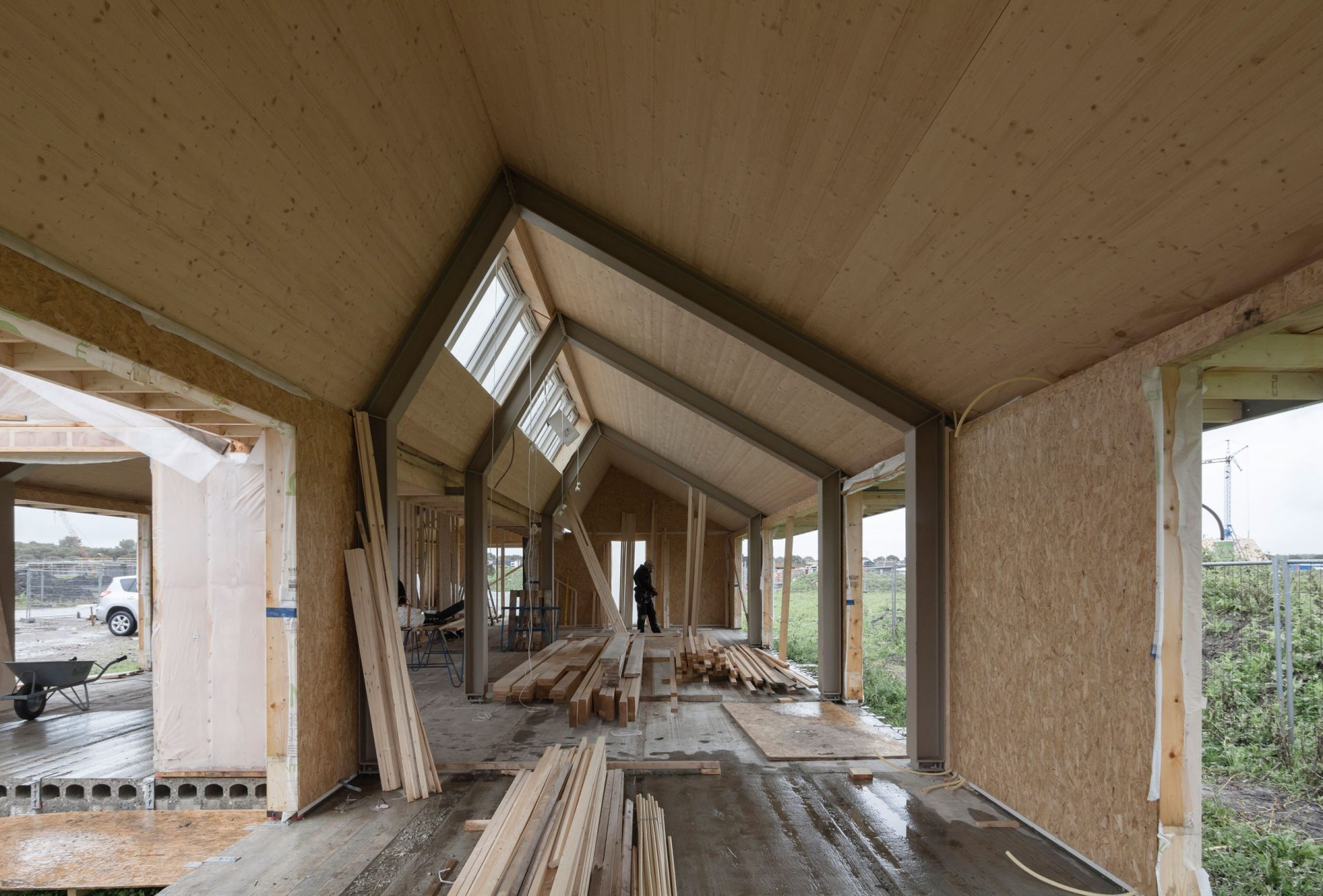 Oosterwold Construction Osb Internal