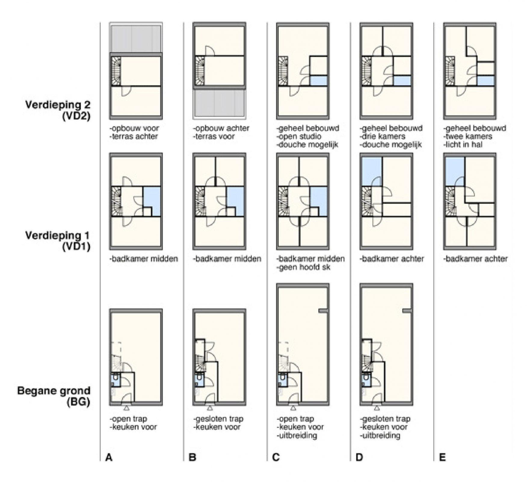 Rekkelijke Floorplans