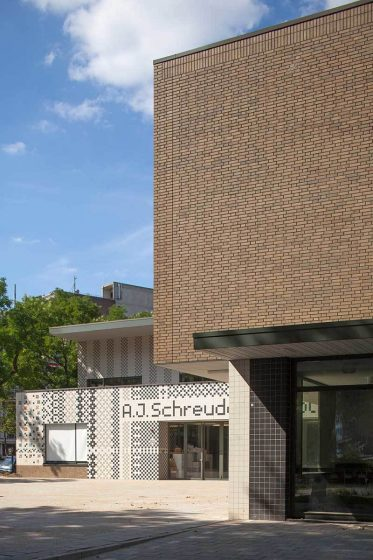 Aj Schreuderschool Fassade Portrait