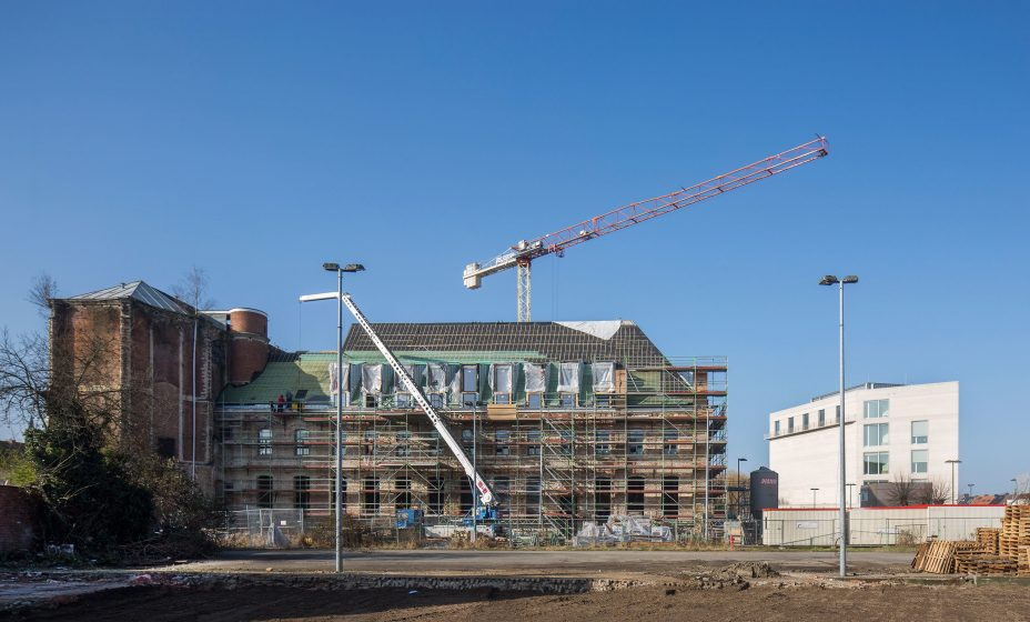 Mechelen Scaffoldings Facade